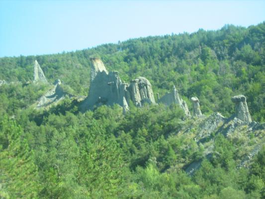 formations géologique et érosion
